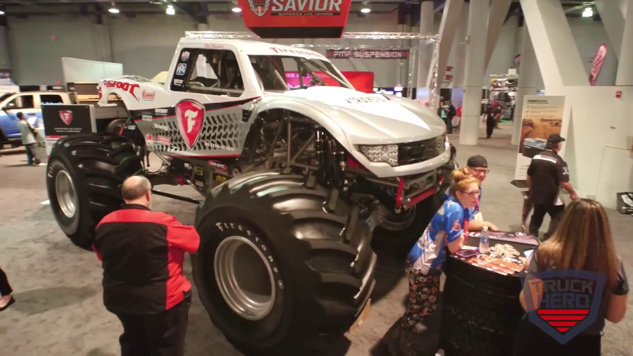 Truck Hero SEMA 2017 South Hall Walk-Through