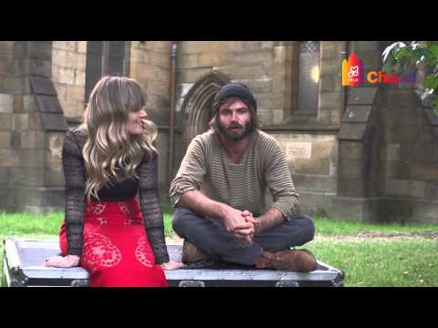 Angus and Julia Stone Interview – Milk Live at the Chapel [Sydney 2015]
