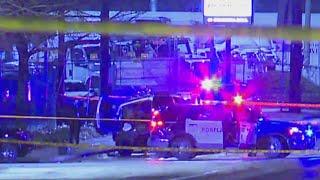 Driver in head-on crash flees, shoots bystander in Portland