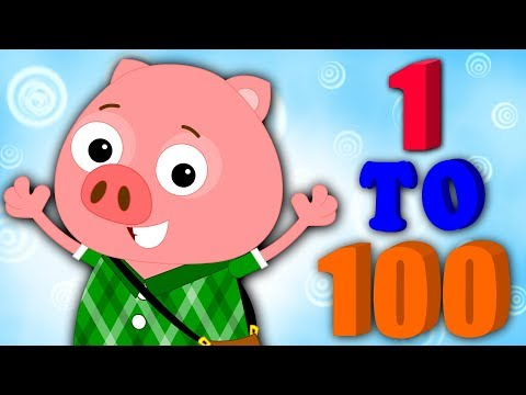 Big Numbers Song 1 to 100 | Learning Numbers | Nursery Rhymes Songs For Kids By Bud Bud Buddies