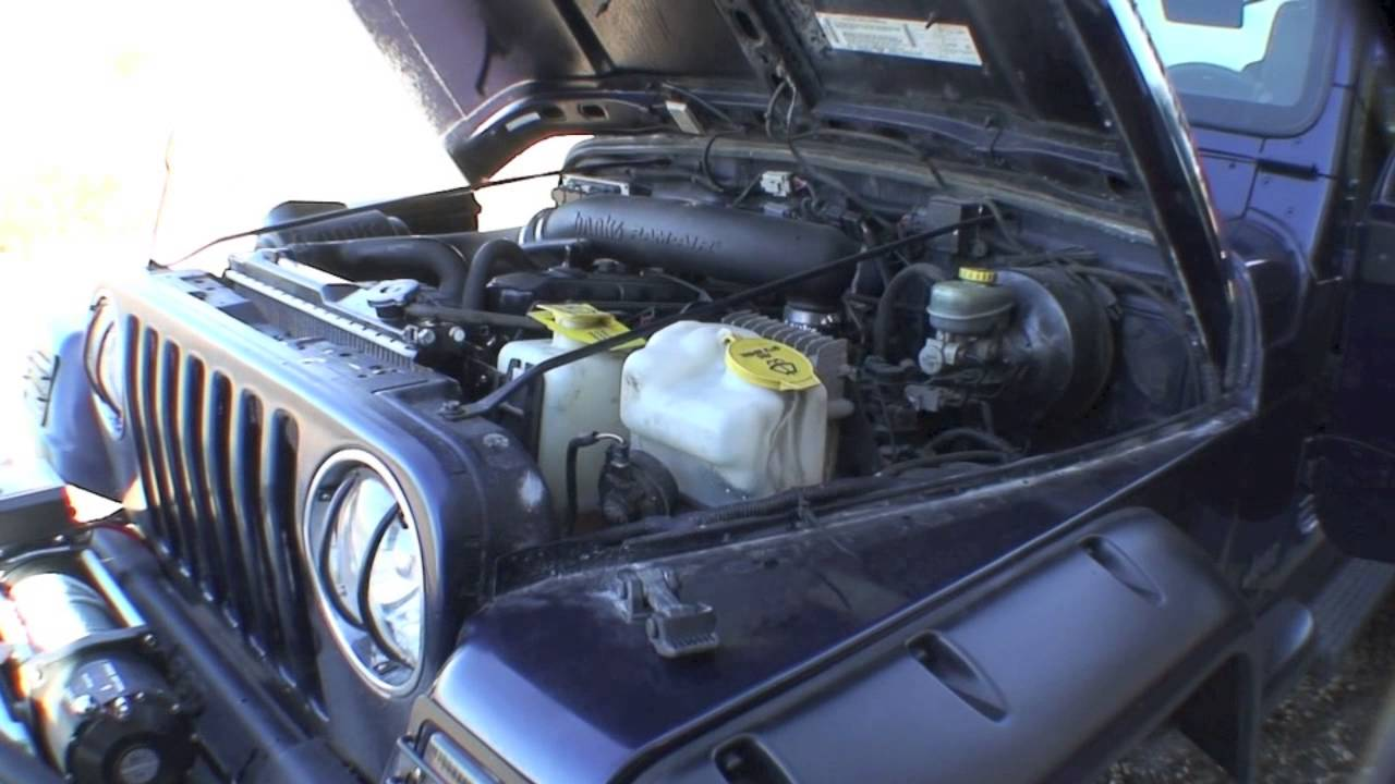 jeep wrangler radiator diagram [ 1280 x 720 Pixel ]