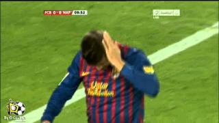 "Cavani ""Double Kick"" Goal Against Barcelona , By Sum3a"