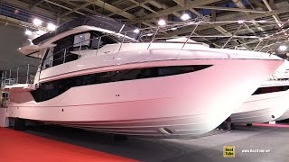 2017 Galeon 460 Fly Motor Yacht - Deck and Interior Walkaround - 2016 Salon Nautique Paris