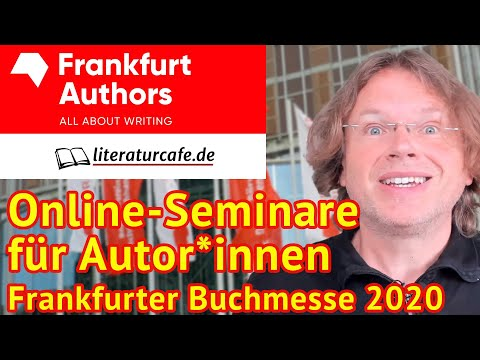 Online-Seminare für Autor*innen zur Frankfurter Buchmesse 2020