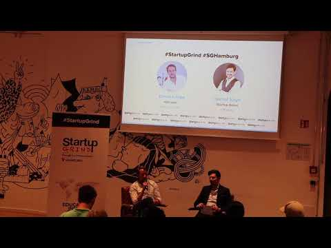 Startup Grind Hamburg hosts David Lange (adlicious)