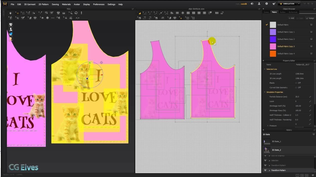 Designer Lines : Marvelous designer 6 tutorial: lock all graphics internal lines