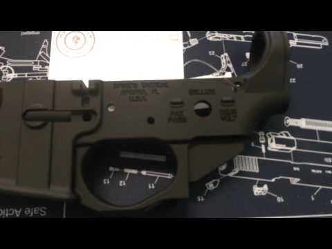 Spikes Tactical Crusader Lower Receiver - YouTube