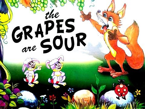 the fox and the sour grapes short story