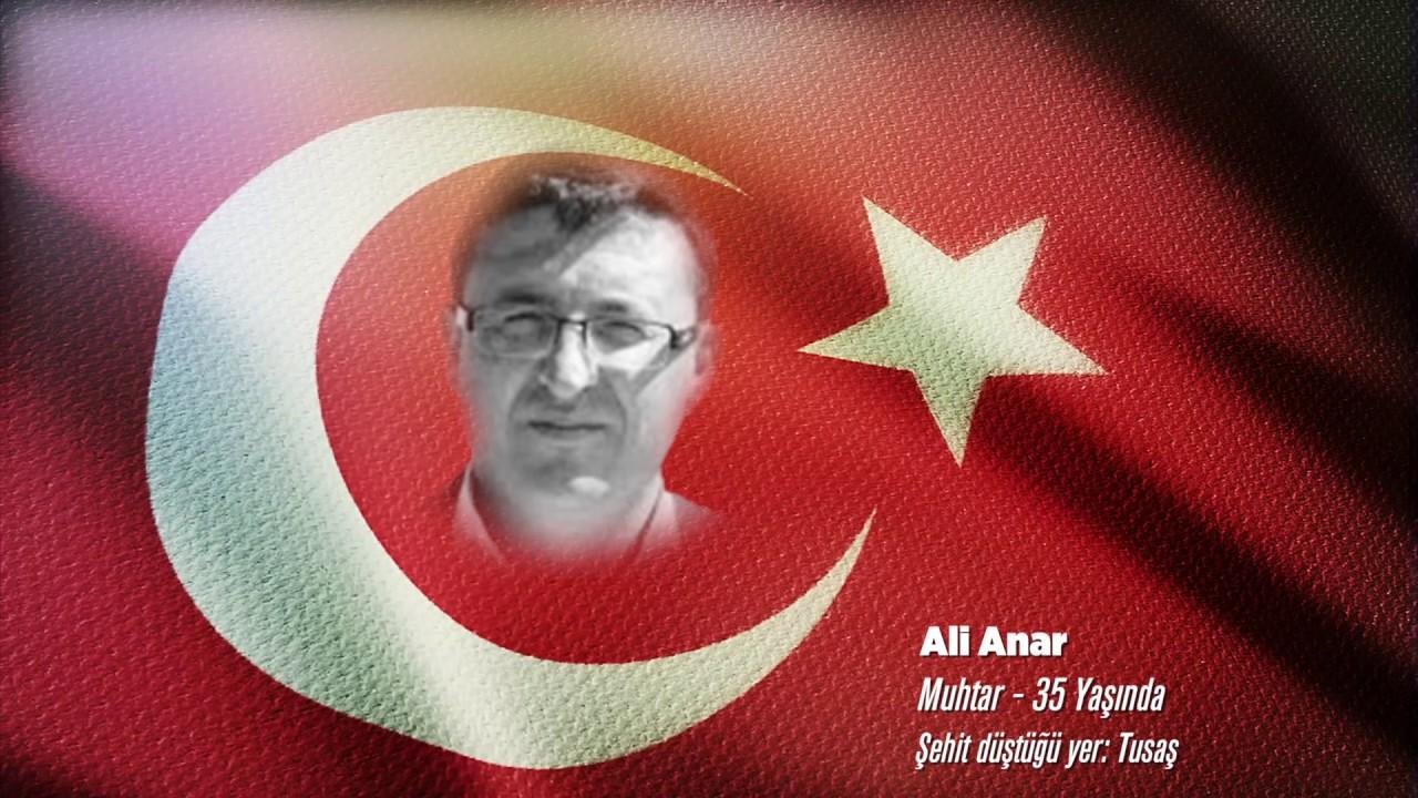 15 Temmuz Şehidi Ali Anar