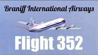"FSX-SE - ""Braving the Storm"" (Braniff International Airways Flight 352)"