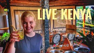 LIVE din KENYA - gustăm struț şi crocodil!!!