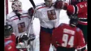 hockey CZE - CAN MS 2005 fight (Bitka) + Ryan SMyth