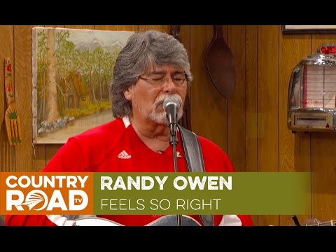 "Randy Owen sings ""Feels So Right"""