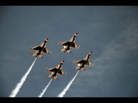 The Thunderbirds @ Beale AFB 5-1-11