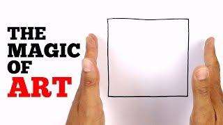 The Magic of Art | Magic Tricks with Art
