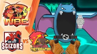 """THIS IS A """"COMPETITIVE"""" MATCH! SEASON 3 PLAYOFFS SIN CITY SCIZORS VS MARYLAND TORTERRAPINS!"""