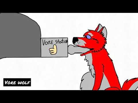 Wolf game vore flipaclip(no audio)