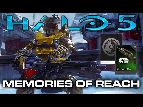 Halo 5 - Jorge's Chaingun, Noble Team Armor, Threat Marker Attachment! (Memories of Reach)