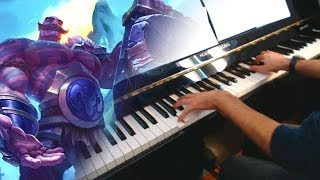 Repeat youtube video Braum's Theme (League of Legends) ~ Piano cover w/ Sheet music!