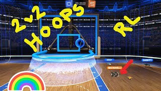Rocket League: 2 v 2 Hoops Gameplay ( No Commentary )