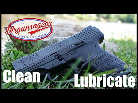 How To Clean And Lubricate A Walther PPS Pistol