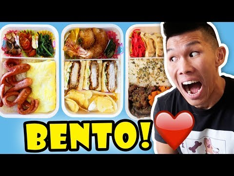 Making BENTO BOX for BREAKFAST LUNCH + DINNER    Life After College: Ep. 569