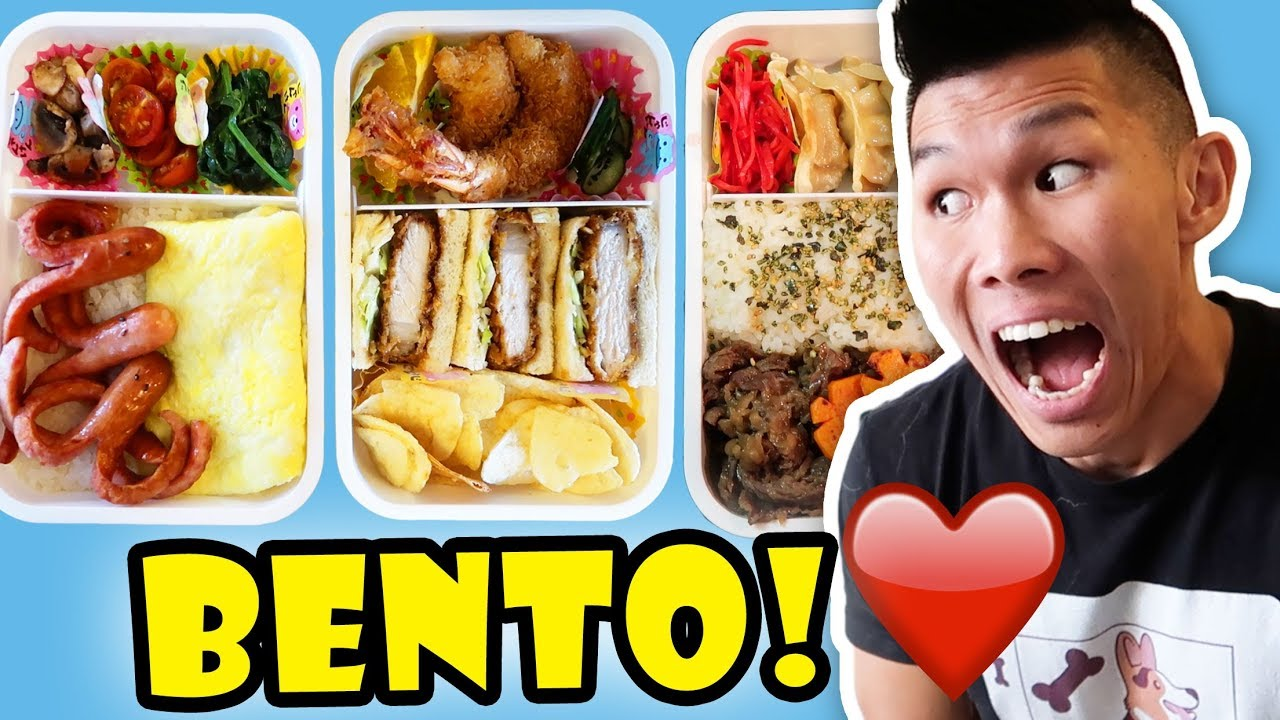 making-bento-box-for-breakfast-lunch-dinner-life-after-college-ep-569