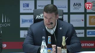 1878 TV | Pressekonferenz 28.12.2018 Augsburg-Straubing 2:5