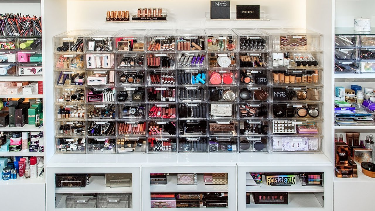 Design Makeup Organization makeup collection and organization desi perkins youtube perkins