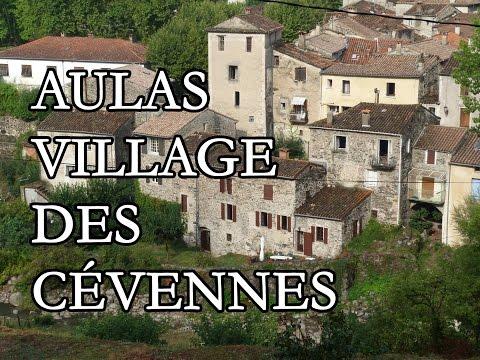 Aulas, village cévenol au pied de l'Aigoual