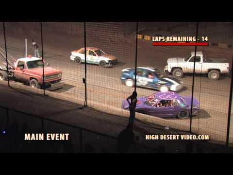El Paso Speedway Park - Hornet Crash 6/04/2010