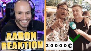 Flying Uwe reagiert auf Hey Aaron - PROMIS ABZOCKEN😂 Flying Uwe Reaktion