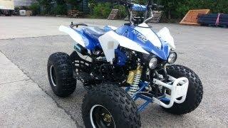 Panthera 3G8RS 125cc Semi-Automatic Quad