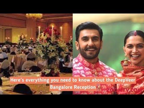 Ranveer Singh & Deepika Padukone Wedding Reception in Bangalore | Inside Details & First Pictures