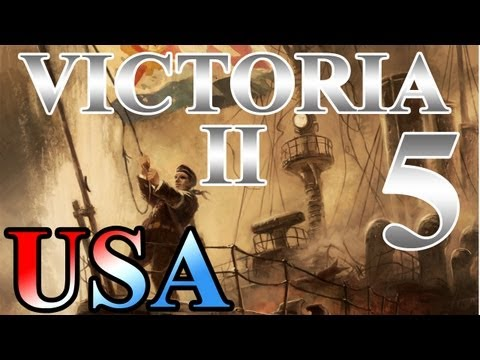 "Victoria 2 Lets Play United States ""Mexican-American War"" EP:5 [1842-1846]"