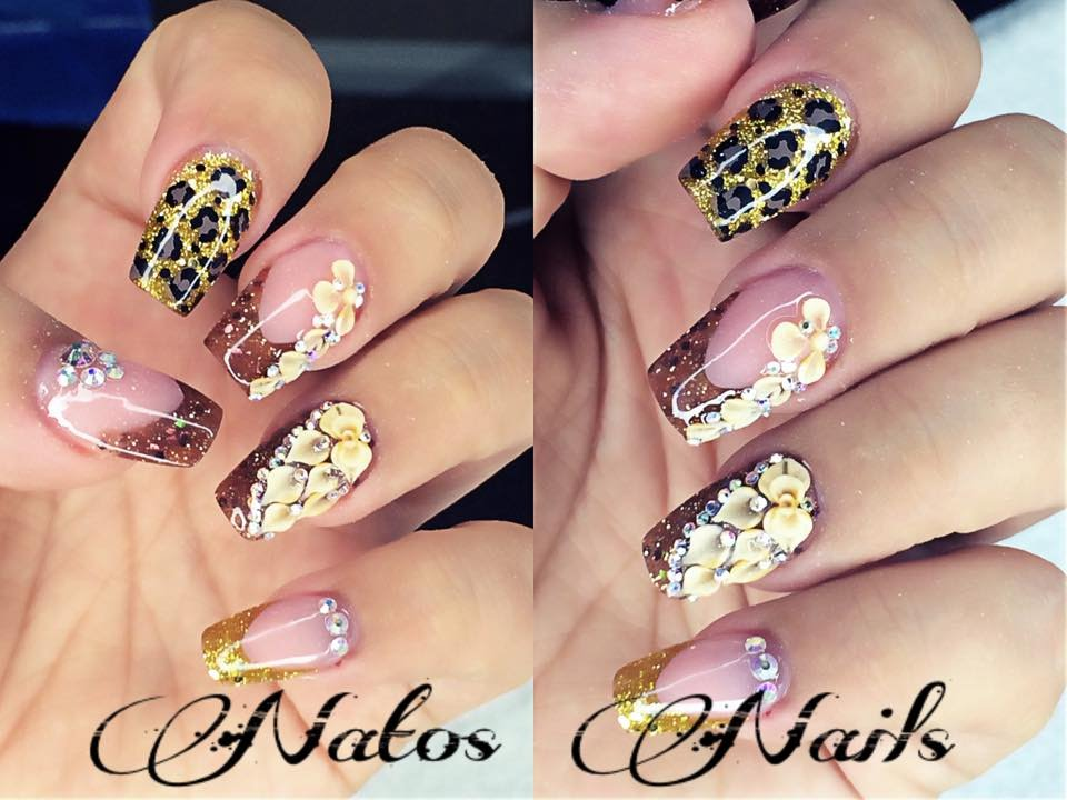 Uñas Acrilicas Otoño Natos Nails Fall Nails Art