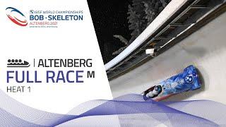 Altenberg | BMW IBSF World Championships 2021 - 4-Man Bobsleigh Heat 1 | IBSF Official