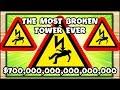 THE FORBIDDEN AND BROKEN 0-0 TOWER THAT COSTS 70,000$ | Bloons TD Battles Hack/Mod (BTD Battles)