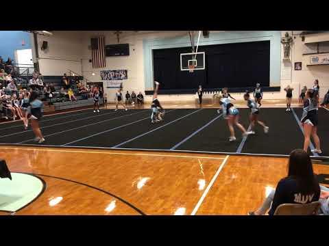 Belleville East Varsity Cheer at Mater Dei 2018