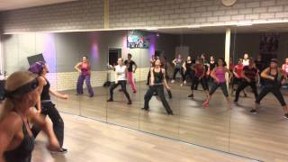 Polfermolen dancefitness nr Pon de Replay-Rihanna ft Elephantman