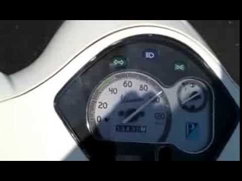 vespa lx 125 at top speed - youtube