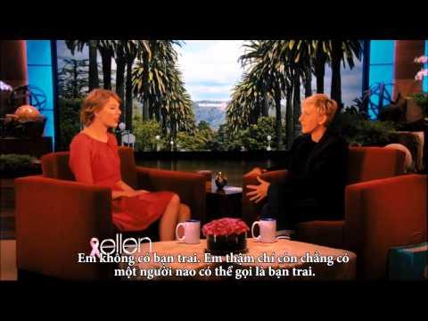 [Vietsub] Taylor Swift On Ellen Full Interview 10.19.2011 Part 2