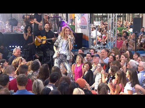 Celine Dion - Because You Loved Me - Live on Today Show  22/07/2016