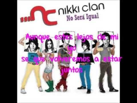nikki clan yo no te puedo olvidar