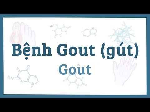 Bệnh Gout (Gút) - nguyên nhân, triệu chứng, chẩn đoán, điều trị, bệnh lý