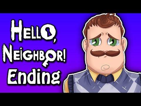 THE FINAL BOSS! | Hello Neighbor Ending + Secrets Explained