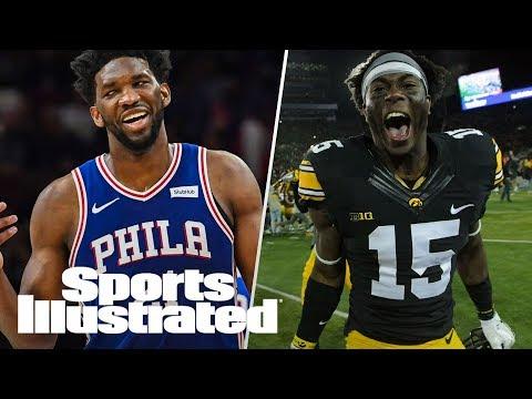 Joel Embiid's Return Sparks Philly, NFL Draft Prospect Josh Jackson   LIVE   Sports Illustrated