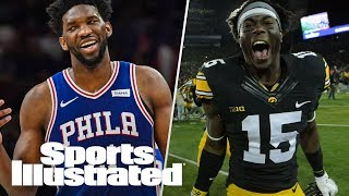 Joel Embiid's Return Sparks Philly, NFL Draft Prospect Josh Jackson   SI NOW   Sports Illustrated