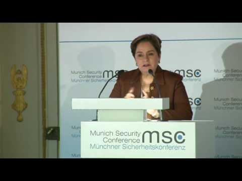 "Munich Security Conference 2017: Panel Discussion on ""Climate Security: Good COP, Bad Cops"""
