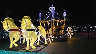 城山観光ホテル クリスマスツリーとイルミネーション 2017年 thumbnail